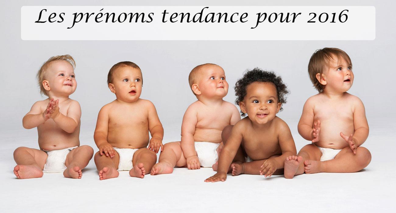 Prénoms tendance pour bébé fille et garçons en 2016