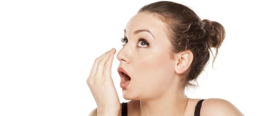 Solutions contre la mauvaise haleine