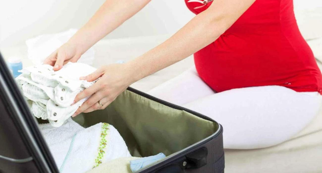 Ce qu'il faudra avoir dans votre valise avant de partir à la maternité