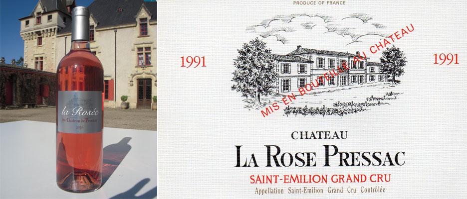 La Rosée du Château de Pressac