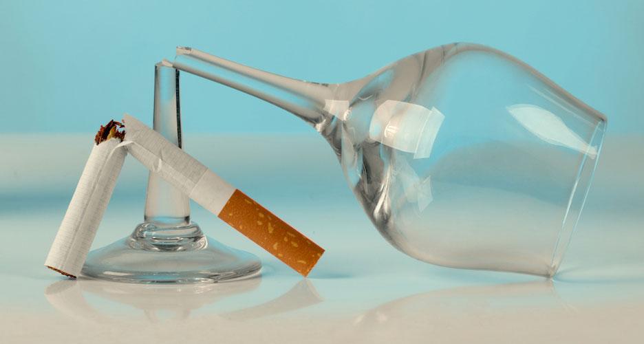 Evitez le tabac ou l'alcool