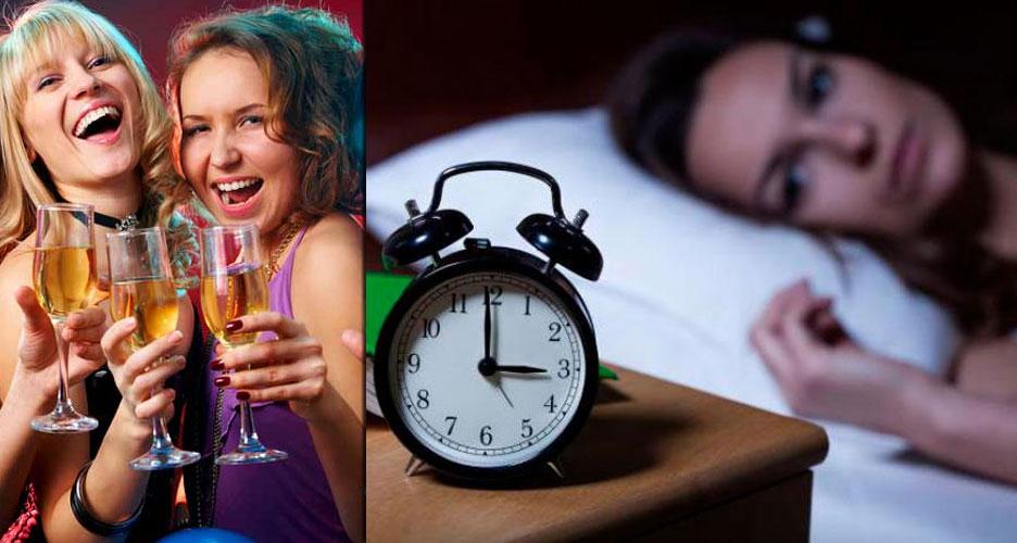 Attendez 3 à 4 heures avant d'aller au lit