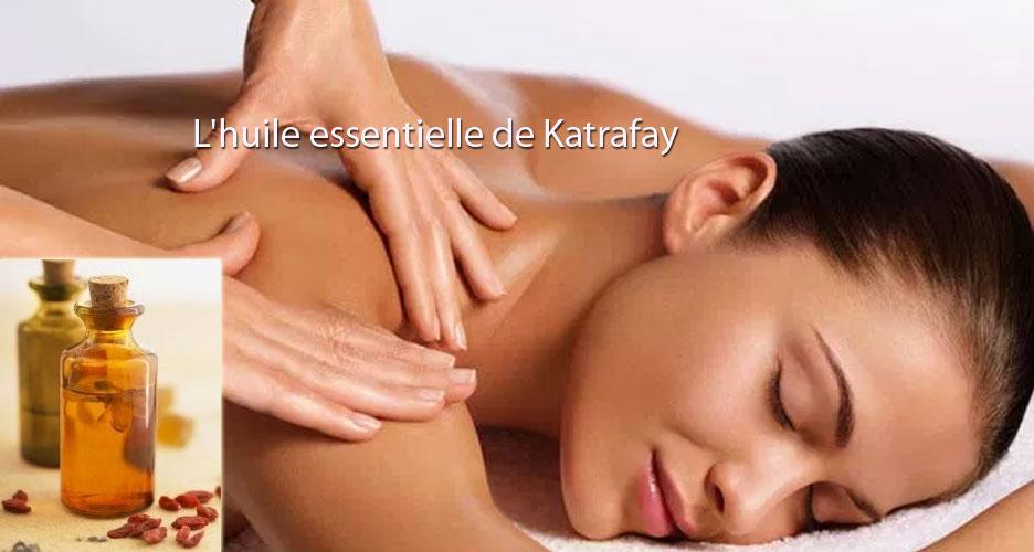 L'huile essentielle de Katrafay
