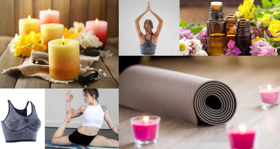 Le matériel pour la pratique du yoga