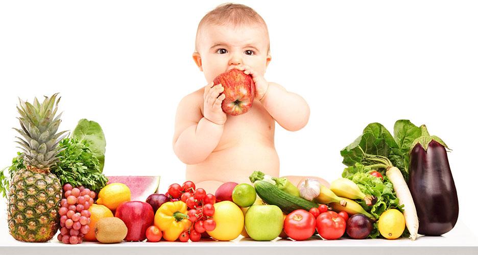 Les légumes et fruits, pour assurer la quantité de minéraux et vitamines