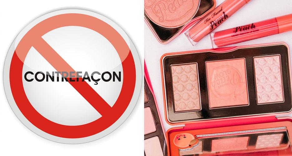 Les risques causés par les produits de beauté contrefaits