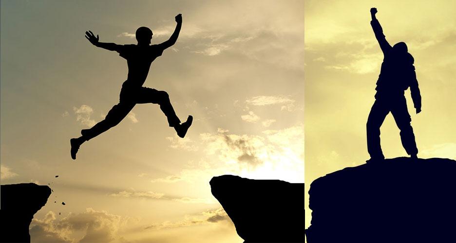 surmonter les obstacles se trouvant sur sa route