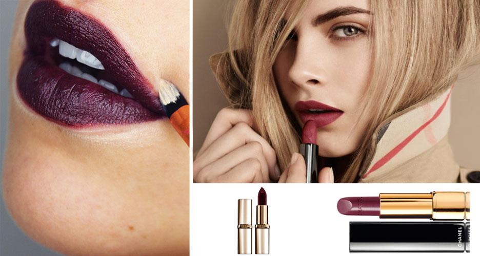 Comment mieux porter le rouge à lèvres foncé