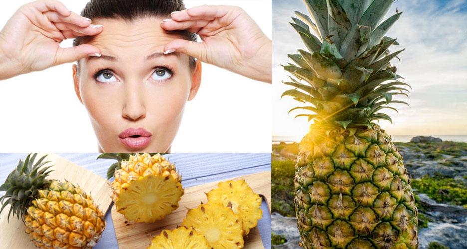 Ananas efficace contre les rides
