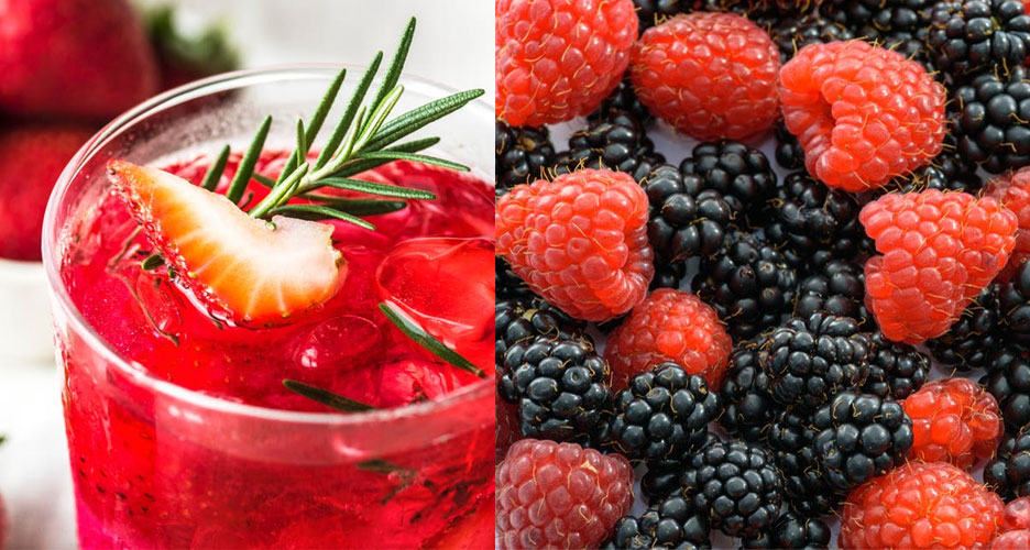 Les fruits rouges et les baies