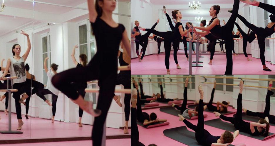 une séance de Fit' Ballet