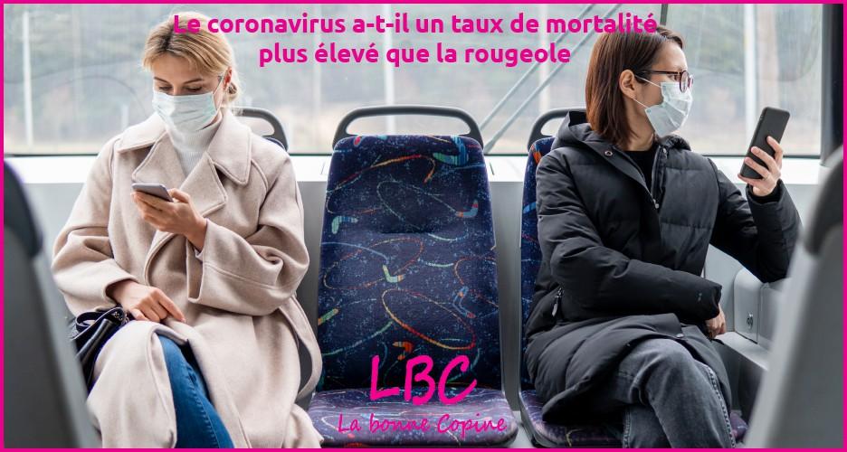 Le coronavirus a-t-il un taux de mortalité plus élevé que la rougeole