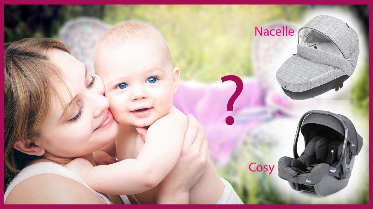 Nacelle pour bébé, un équipement adéquat pour garder son enfant près de soi