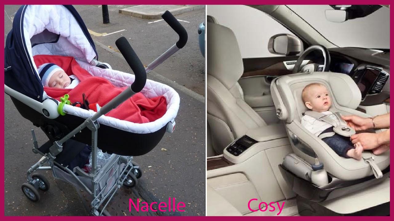 Utiliser une nacelle pour faciliter la prise en charge d'un bébé